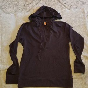 Lucy chocolate brown hoodie pullover